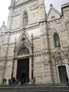 Duomo di Napoli - facciata